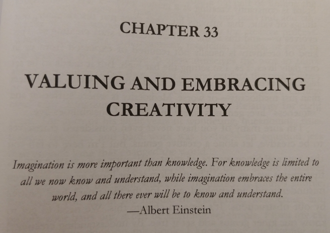 Valuing and Embracing Creativity