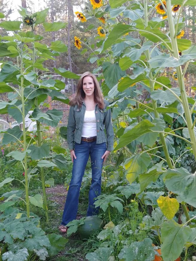 Marie in Garden September 2019